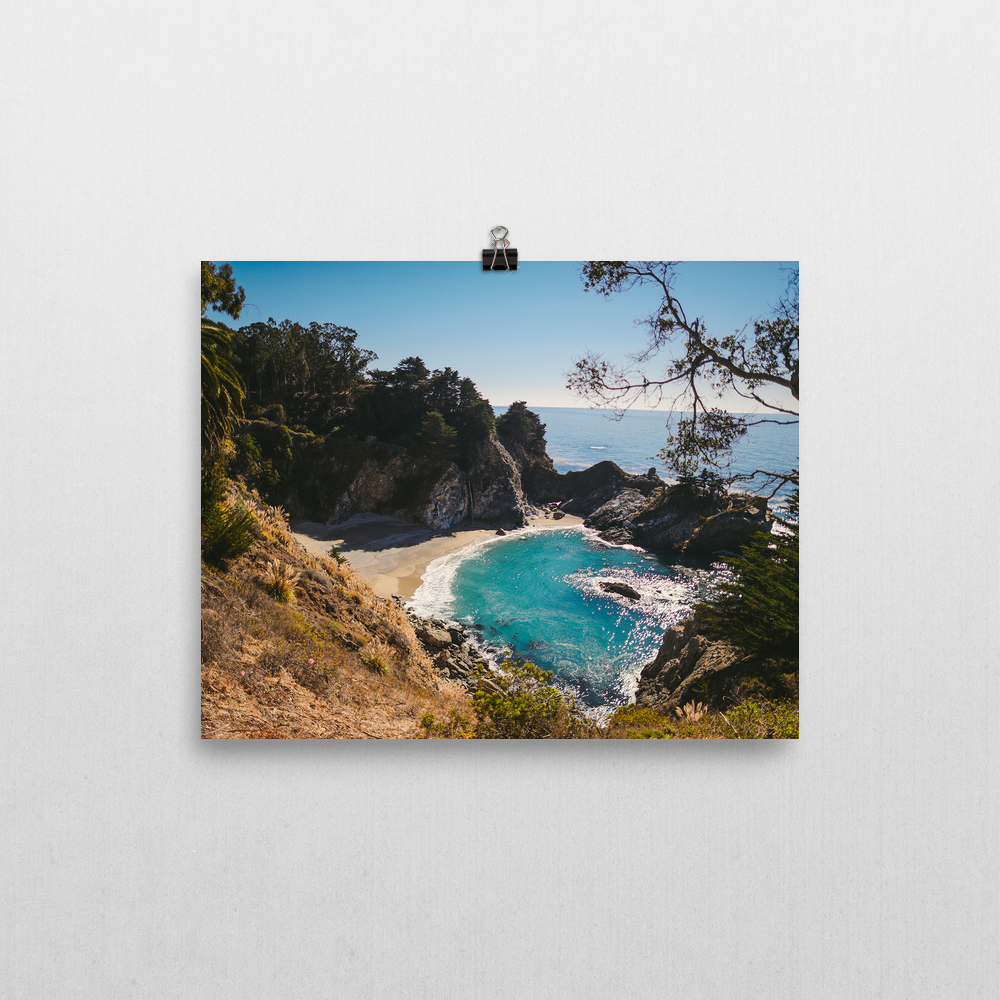 Big Sur On The Pacific (8×10)