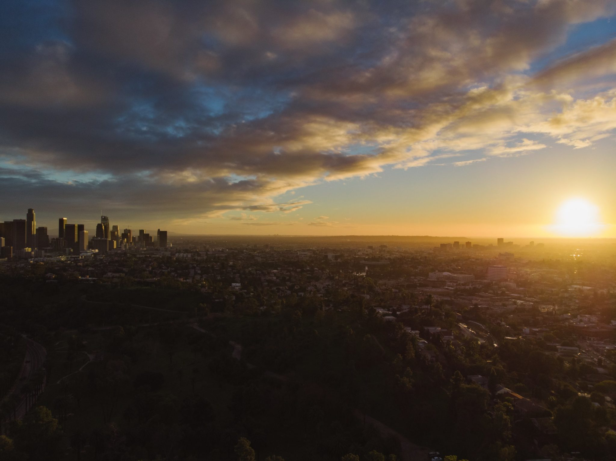 Horizons, Los Angeles Collection. Fine Art Cityscape Photography.